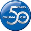 OKUMA 50 Jahre OSP Logo
