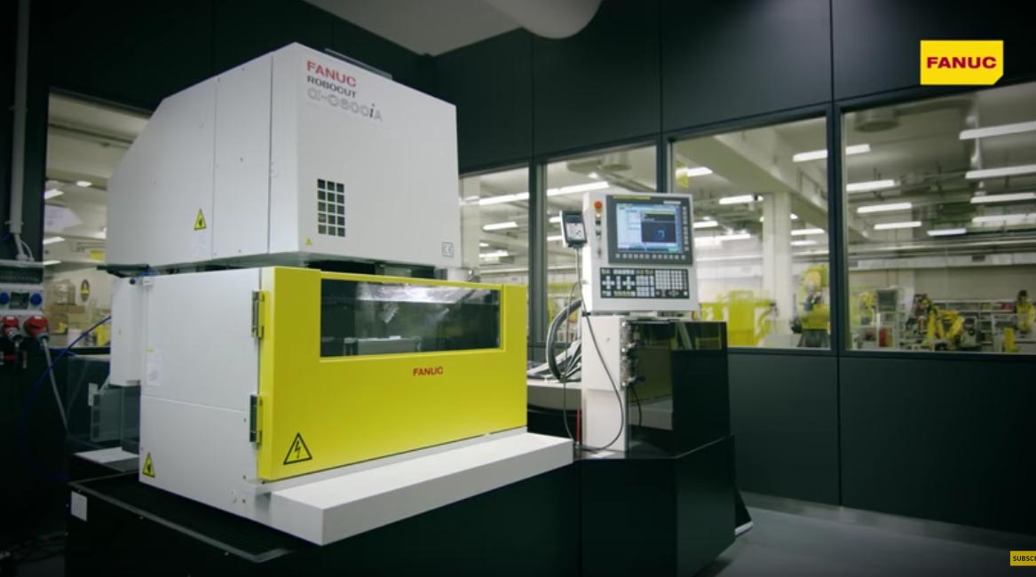 FANUC ROBOCUT - High precision CNC wire Electrical Discharge Machining