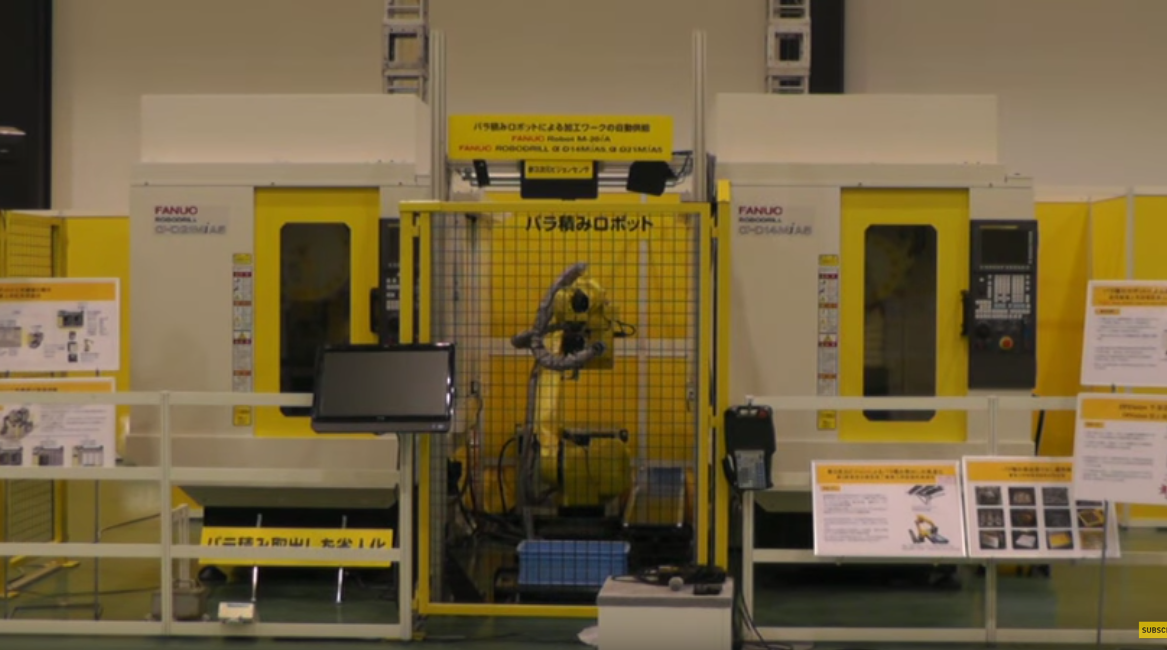 FANUC ROBODRILL Automation